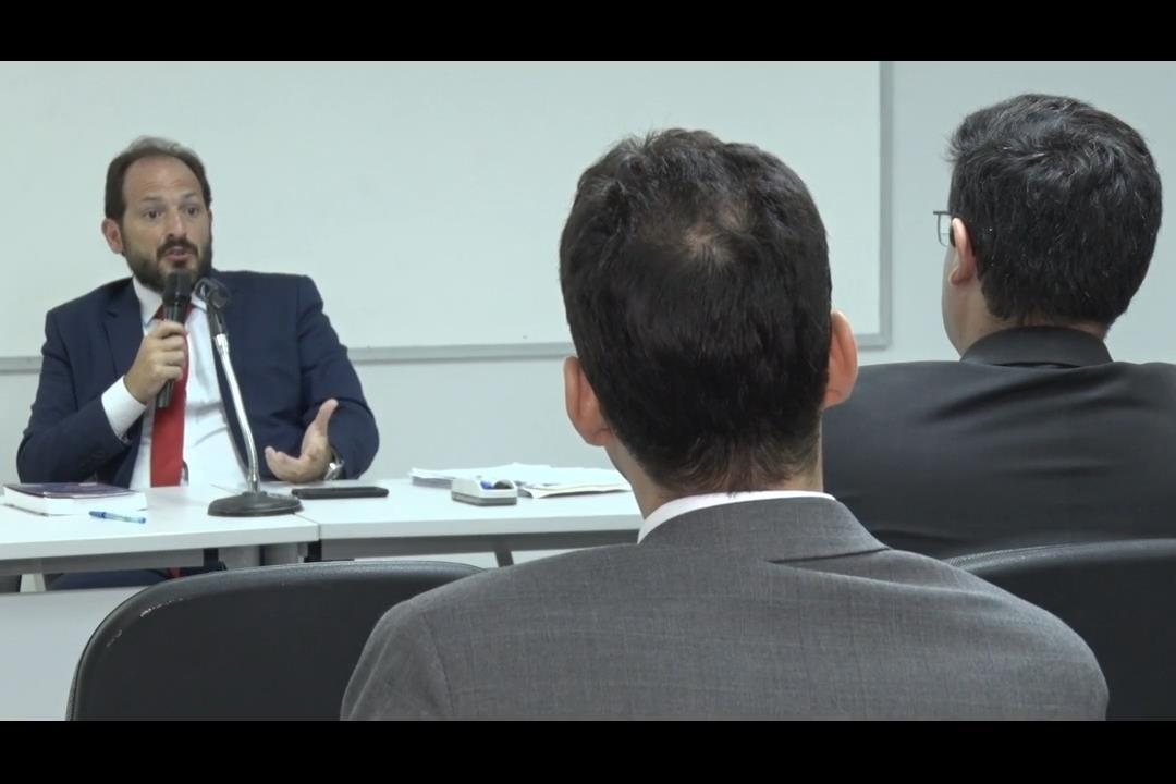 Palestra na Esmal destaca trabalho de juízes no processo da Laginha